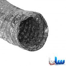 لوله فلکسیبل با روکش آلومینیوم ساده 50 میکرون