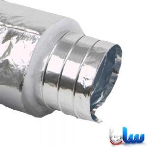 لوله فلکسیبل با عایق پلی استر غیر ساده با روکش آلومینیوم